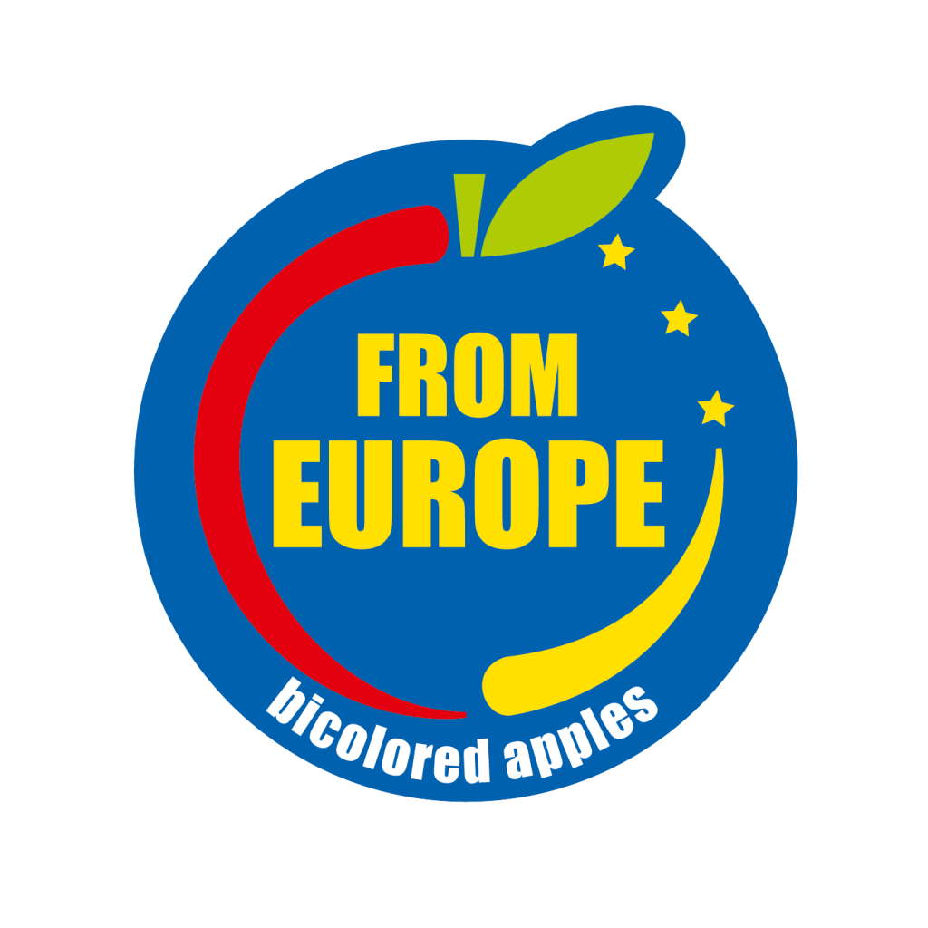 Logo Bicolored Apples from Europe
